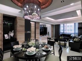 100平米现代风格两室一厅装修效果图大全2014