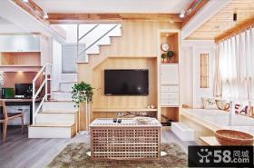 日式风格复式楼创意设计图