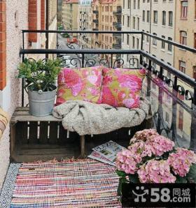 东南亚阳台设计效果图