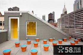 两室两厅露天阳台装修效果图大全2012图片