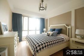 简约美式卧室装潢