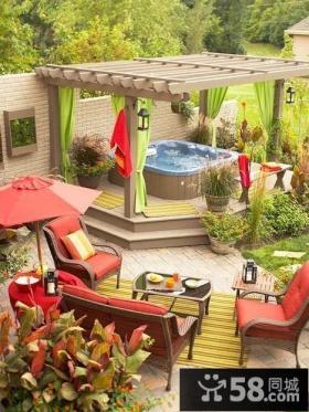 别墅庭院景观设计图片欣赏
