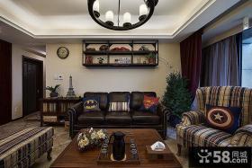 美式风格田园风光客厅设计