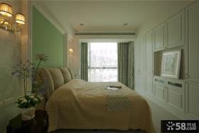 简欧风格家庭卧室装修效果图