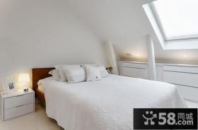 斯德哥尔摩141平米简约风格卧室阁楼装修效果图大全2012图片