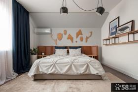 现代时尚卧室效果图大全欣赏