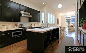 现代家装设计厨房橱柜图片