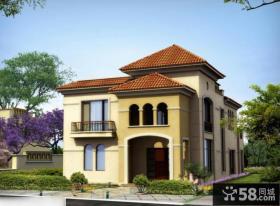 新中式风格别墅效果图片