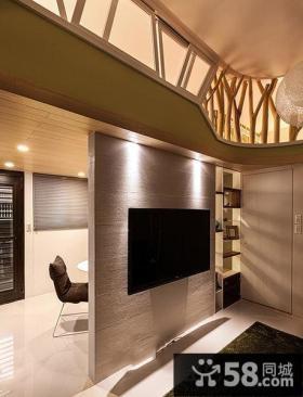 电视背景墙隔断设计图片