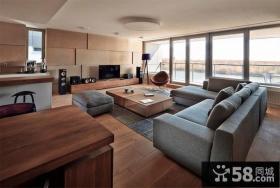 装饰稳重大气的客厅设计