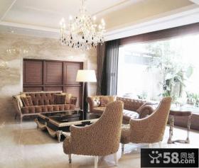 欧式雅致别墅室内设计效果图