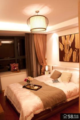 50平米小户型卧室飘窗装修效果图