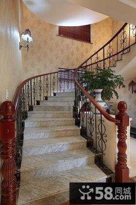 欧式古典楼梯设计