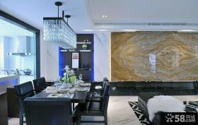 现代新古典风格西餐厅设计效果图大全