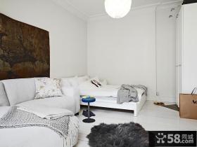 30平方米小户型客厅装修效果图