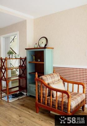 美式田园装修两居室效果图大全