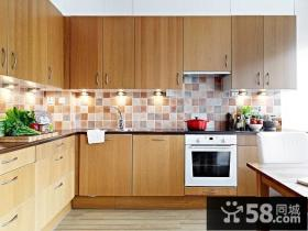 美式实木橱柜家具图片