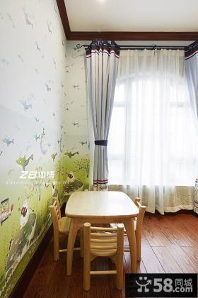 优质儿童房背景墙装修效果图欣赏