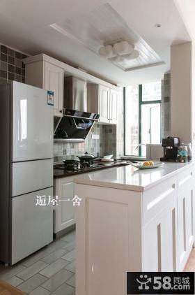 北欧风格装修隔断式厨房设计