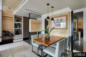 2015日式家用餐厅设计图片