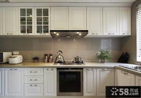 现代美式装修厨房设计