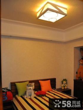 次卧室天花灯具设计