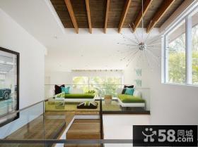 简约家居复式公寓装修效果图