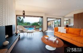 180平复式楼客厅装修效果图大全2014图片