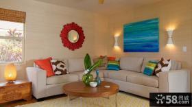 超小户型客厅沙发效果图