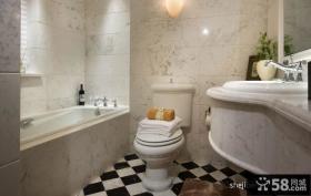 简约风格卫生间装修设计效果图大全2013图片