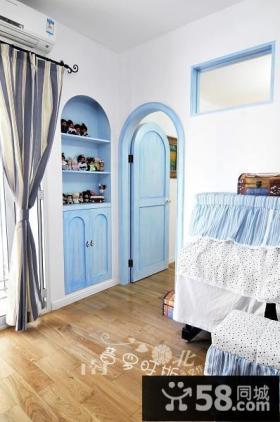 客厅进门玄关装修效果图-非空设计