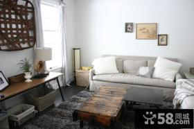 90平米小户型北欧小清新客厅装修效果图