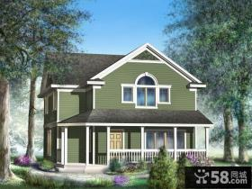 优质农村二层小别墅设计效果图
