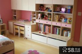 温馨卧室组合柜图片