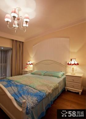地中海简约风格卧室装修图片