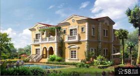 二层欧式别墅外观设计图