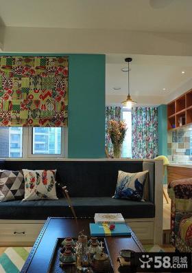 美式现代家居公寓室内设计效果图
