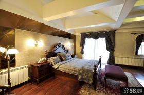欧式主卧室装修效果图大全2013图片欣赏