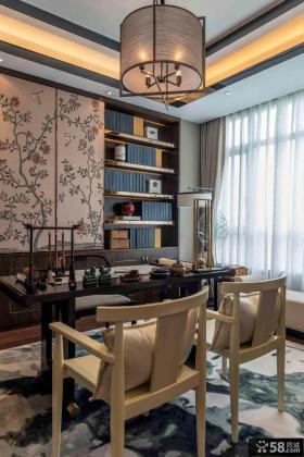 奢华新中式复式家居装修案例