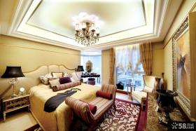 欧式新古典风格卧室图片2014