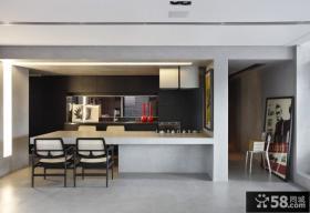 巴西清爽复式公寓厨房装修效果图大全2012图片