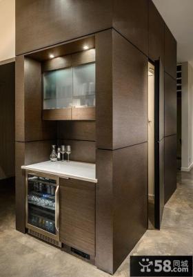 加拿大时尚现代住宅餐厅设计