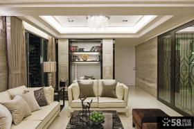 美式风格简约客厅装修效果图