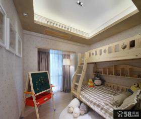 现代简约风格儿童房设计图
