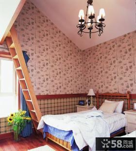 美式家装设计阁楼图