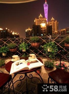 优质小阳台花园设计效果图欣赏