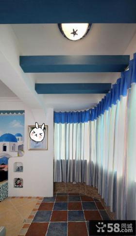 地中海装修设计阳台图片