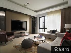 120现代简约风格三居室装修效果图欣赏大全