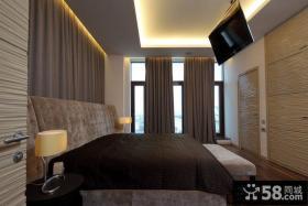 豪华的皇宫俄罗斯北欧风格卧室背景墙装修效果图大全2012图片