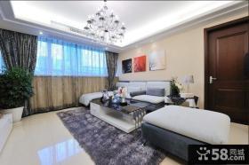 现代都市家居客厅装潢案例